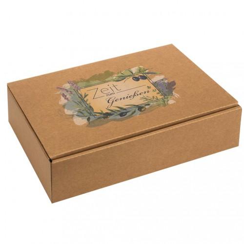 Geschenkverpackung - Zeit zum Genießen-3er