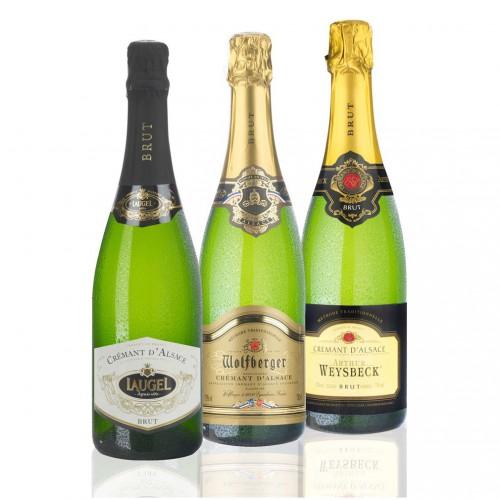 Crémant d'Alsace Probierpaket