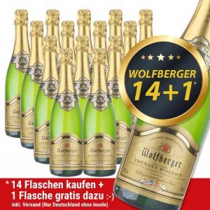 Angebot Cremant Wolfberger Brut 14+1