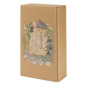Geschenkverpackung - Zeit zum Genießen-2er
