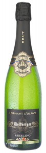 Crémant d'Alsace - Wolfberger, Riesling