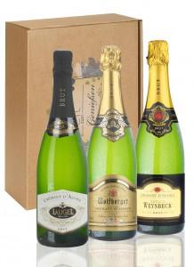 Crémant d'Alsace Geschenkpaket
